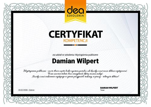 certyfikatwystapienia